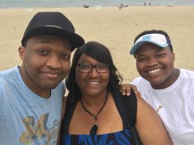 Me and my handsome sons!
